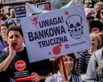"""Demonstracja """"Stop Bankowemu Bezprawiu"""". """"Żądamy należytej ochrony obywateli"""""""