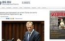 Rosyjskie media o wyborze Tuska