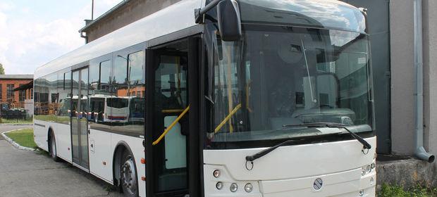 Autobus Solbus Solcity 12 w podstawowej wersji