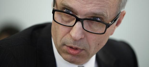 Na zdj�ciu Andrzej Jakubiak, przewodnicz�cy KNF