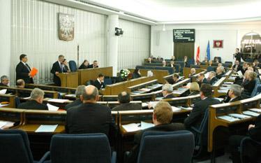 Likwidacja Senatu - SLD szuka zwolennik�w tego pomys�u