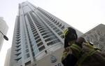 Po�ar w Dubaju. Pali� si� jeden z najwy�szych apartamentowc�w na �wiecie