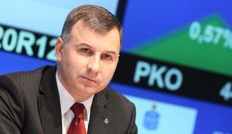 Prezes PKO BP straci sw�j sto�ek i ponad 3 miliony rocznie?