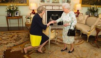 Theresa May now� premier Wielkiej Brytanii