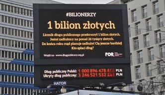 Spóźnione Ministerstwo Finansów: dług przekroczył bilion. Jest już nawet 18 mld zł wyższy