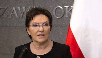 Premier Kopacz udaje si� na Ukrain�. Po co?