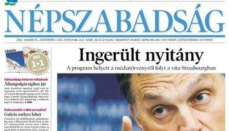 """Wydawca dziennika """"Nepszabadsag"""" sprzedany"""