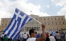 Strajk g�odowy przed greckim parlamentem