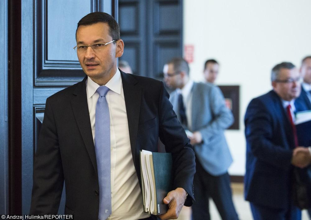Zdjęcie obrazujące: Morawiecki: NBP i KSF pracują nad rekomendacjami ws. kredytów frankowych