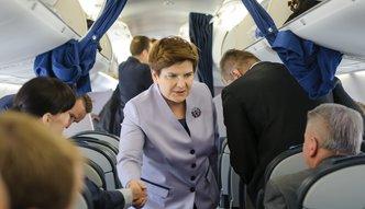 Prywatne loty Szydło rządową CASĄ. PiS tłumaczy się w Sejmie