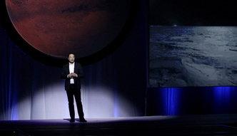 Miliarder Elon Musk przedstawił plan kolonizacji Marsa