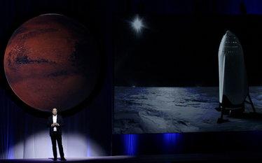 Miliarder Elon Musk przedstawi� plan kolonizacji Marsa