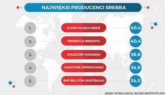 Polskie bogactwa naturalne. Sporo gazu i w�gla, ale najwi�cej mamy srebra
