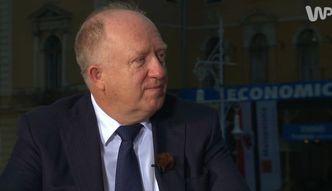 Herbert Wirth, prezes KGHM Polska Mied�, o problemach Chin i k�opotach KGHM