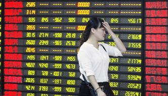 Krach w Chinach. Totalna pora�ka w�adz, kt�re chcia�y zahamowa� spadki