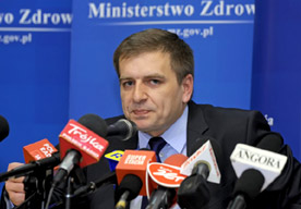 Bartosz Ar�ukowicz, minister zdrowia