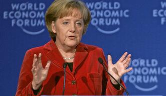 Reformy na Ukrainie. Merkel chwali Kij�w za post�py