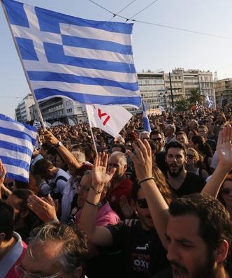 """Referendum w Grecji. """"Europejskie dzia�ania wobec Grecji to terroryzm"""""""