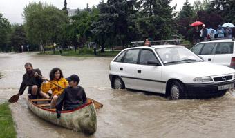 �miertelne ofiary powodzi w Serbii