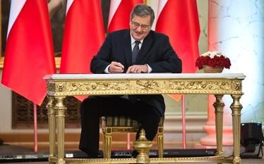 Ustawa o ogr�dkach dzia�kowych podpisana przez prezydenta