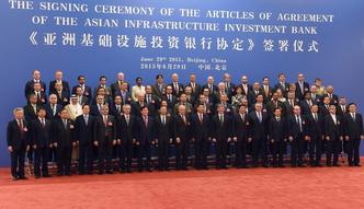 Podpisano akt za�o�ycielski Azjatyckiego Banku Inwestycji Infrastrukturalnych