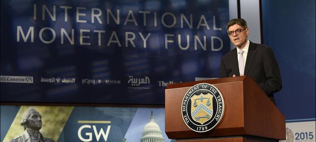 Sekretarz skarbu Stanów Zjednoczonych Jack Lew.