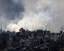 Atak w Strefie Gazy. Pierwszy nalot od rozejmu
