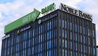 Getin Noble Bank na minusie. Prezes liczy na zyski w przyszłym roku