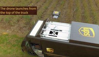 Drony UPS zaoszczędzą czas i pieniądze firmy kurierskiej