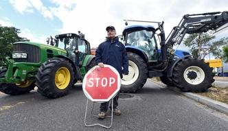 Protesty rolnik�w. Traktory jad� na Pary�