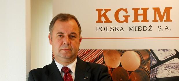 Krzysztof Skóra był już prezesem KGHM.