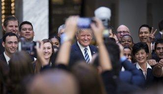 """Trump otworzy� sw�j nowy hotel. """"To najbardziej po��dana nieruchomo�� w Waszyngtonie"""""""