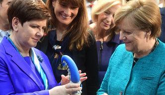 Targi w Hanowerze. Szydło i Merkel otworzyły polskie stanowisko
