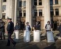 Protesty w Odessie przeciw wy��czeniom pr�du