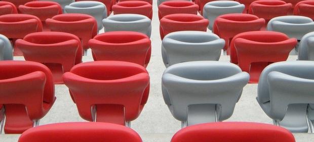 Firma Forum Seating dostarczała również krzesełka na Stadionie Narodowym w Warszawie