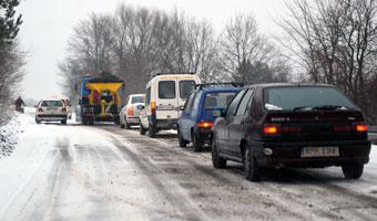 Zima nie tylko w Polsce