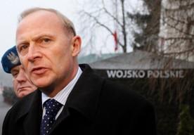 Na zdj. wiceszef MON Czesław Mroczek