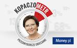 Kopaczometr Money.pl. Premier rz�dzi dopiero 4 miesi�ce, a spe�ni�a prawie jedn� trzeci� obietnic