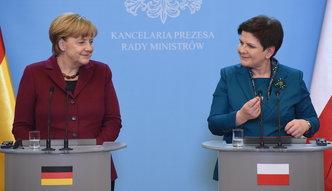 Sankcje wobec Rosji na razie nie mogą być zniesione. Zgodne stanowisko Szydło i Merkel