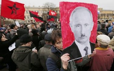 Rosjanie niemile widziani na Ukrainie