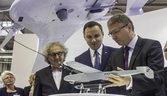 """Przemys� zbrojeniowy. Polskie drony styartuja prosto """"z r�ki"""""""