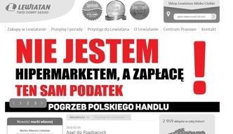 Strajk polskiego handlu. Wszystko przez podatek, kt�ry mia� mu pom�c