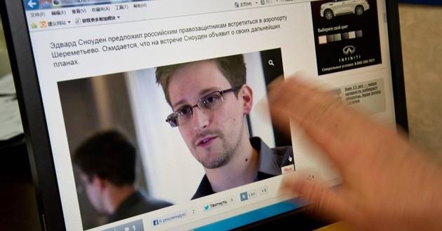 Na zdj. Edward Snowden