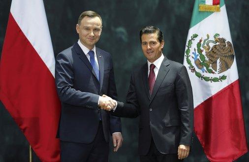 Andrzej Duda w Meksyku. Nowe otwarcie dyplomacji gospodarczej na zakręcie