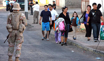 Trzesienie ziemi w Chile - 5,3 w skali Richtera