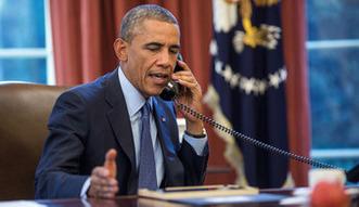 Putin rozmawia� z Obam� o Ukrainie, Bliskim Wschodzie i Pa�stwie Islamskim