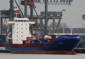 Cypryjski kontenerowiec Corvus J