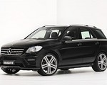 Nowy Mercedes klasy M po wizycie u Brabusa