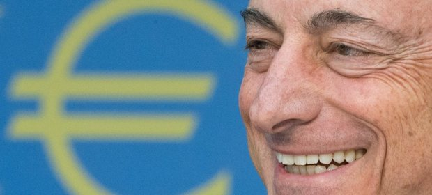 Mario Draghi, prezes EBC