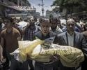 Sytuacja w Strefie Gazy. Palesty�czycy popieraj� ataki na Izrael